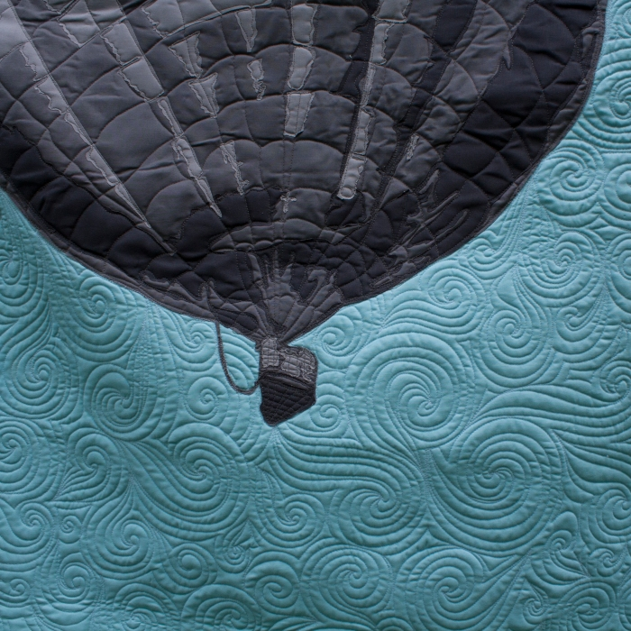 Drift Away - Detail - Applique - Balloon